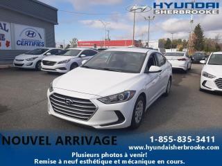 Used 2017 Hyundai Elantra LE+AIR CLIM+BANCS CHAUFFANTS+BLUETOOTH for sale in Sherbrooke, QC