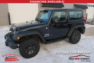Used 2012 Jeep Wrangler SPORT for sale in West Saint Paul, MB