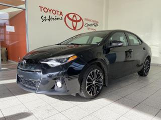 Used 2016 Toyota Corolla * S * AUTOMATIQUE * CAMÉRA * MAGS * TOIT * for sale in Mirabel, QC