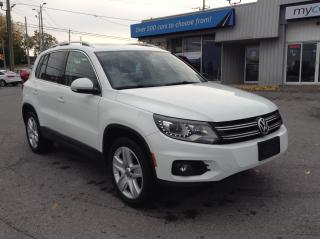 Used 2016 Volkswagen Tiguan Comfortline LEATHER, PANOROOF, NAV, BEAUTY!! for sale in Kingston, ON