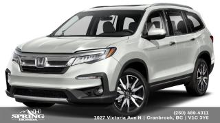 New 2021 Honda Pilot TOURING 8P for sale in Cranbrook, BC