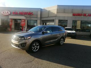 Used 2017 Kia Sorento SX+ V6 7-Seater **GPS **TOIT PANO**CAMERA 360** for sale in Mcmasterville, QC