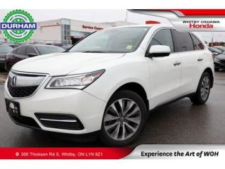 Used 2016 Acura MDX SH-AWD for sale in Whitby, ON