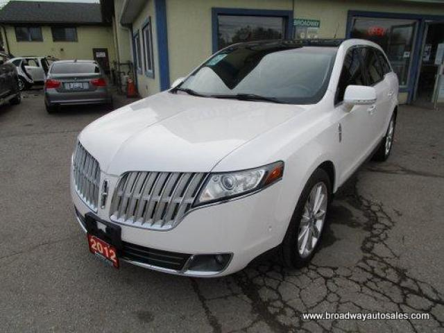 2012 Lincoln MKT LOADED ALL-WHEEL DRIVE 7 PASSENGER 3.5L - ECO-BOOST.. BENCH & THIRD ROW.. NAVIGATION.. LEATHER.. HEATED & AC SEATS.. DUAL SUNROOF.. BACK-UP CAMERA..