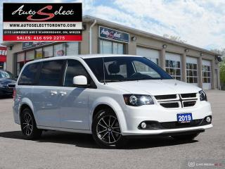 Used 2019 Dodge Grand Caravan GT ONLY 62K! **BACK-UP CAMERA** CLEAN CARPROOF for sale in Scarborough, ON