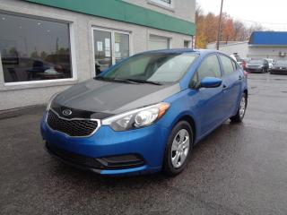Used 2014 Kia Forte Berline 4 portes, boîte manuelle, LX for sale in St-Jérôme, QC