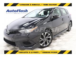 Used 2017 Toyota Corolla iM M6 *Blind-Spot *Collision-Warning *Camera for sale in St-Hubert, QC
