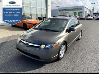 Used 2008 Honda Civic 4dr Auto LX for sale in Victoriaville, QC