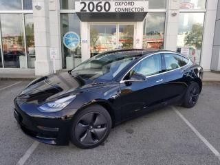 Used 2018 Tesla Model 3 Mid Range for sale in Port Coquitlam, BC