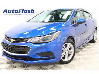 Used 2016 Chevrolet Cruze LT *TURBO *AMERA *A/C *MAGS *BLUETOOTH *CRUISE for sale in St-Hubert, QC