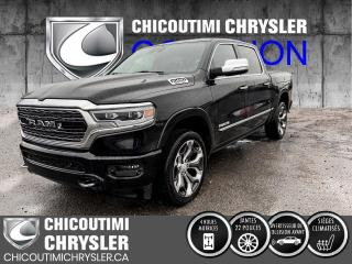Used 2019 RAM 1500 Limited cabine d'équipe 4x4 caisse de 5 for sale in Chicoutimi, QC