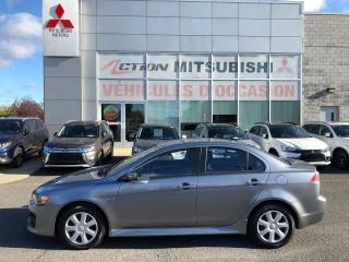 Used 2016 Mitsubishi Lancer A/C+SIÈGES CHAUFFANTS+GARANTIE 10 ANS/160,000KM* for sale in St-Hubert, QC