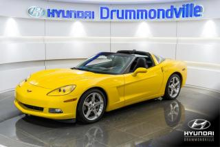 Used 2005 Chevrolet Corvette NAVI + CUIR + BOSE + HEAD UP + MAGS + WO for sale in Drummondville, QC