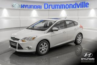 Used 2012 Ford Focus SEL + GARANTIE + TOIT + CUIR + CAMERA + for sale in Drummondville, QC