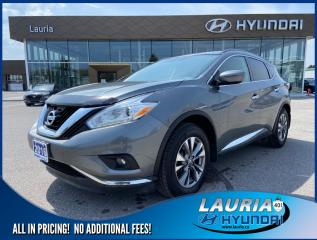 Used 2016 Nissan Murano SV AWD - Navigation for sale in Port Hope, ON