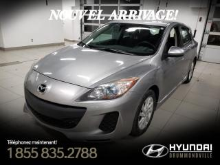 Used 2012 Mazda MAZDA3 GS + GARANTIE + A/C + CRUISE + MAGS + WO for sale in Drummondville, QC