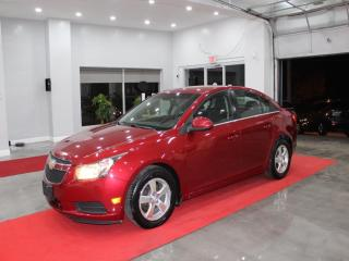 Used 2012 Chevrolet Cruze LT Turbo LT, Clean Carfax, Certified for sale in Richmond Hill, ON