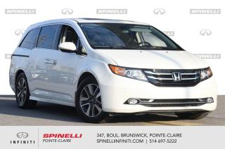 Used 2016 Honda Odyssey 4dr Touring / DVD / CUIR / NAVI 1 PROPRIO for sale in Montréal, QC