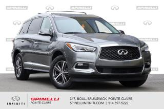 Used 2016 Infiniti QX60 AWD 4dr - Premium / NAVI / CAMERA 360 / STARTER 1 PROPRIO - JAMAIS ACCIDENTE for sale in Montréal, QC