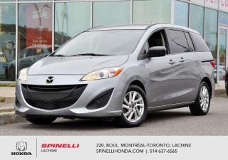 Used 2014 Mazda MAZDA5 GS AUTO GROUPE COMMODITE AUTO AC MAGS BLUETOOTH 6 PLACES++ for sale in Lachine, QC