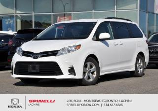 Used 2019 Toyota Sienna LE 8 PASS MAGS BLUETOOTH 8 PASSAGERS BLUETOOTH CRUISE MAGS for sale in Lachine, QC