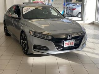 Used 2018 Honda Accord Sedan 1.5T Sport-HS CVT for sale in Burnaby, BC