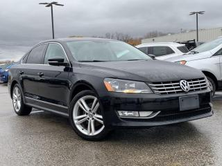 Used 2014 Volkswagen Passat 2.0 TDI Comfortline HEATED SEATS, BLUETOOTH for sale in Midland, ON