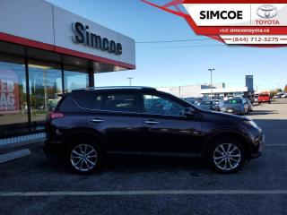 Used 2016 Toyota RAV4 Limited  - Navigation -  Sunroof - $191 B/W for sale in Simcoe, ON