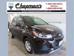 New 2021 Chevrolet Trax LT Remote Vehicle Start, Rear Vision Camera, Heated Seats for sale in Killarney, MB