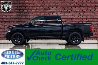 Used 2019 RAM 1500 4x4 Crew Cab Classic Express Blackout Bcam for sale in Red Deer, AB