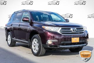 Used 2013 Toyota Highlander V6 YOU CERTIFY YOU SAVE for sale in Innisfil, ON