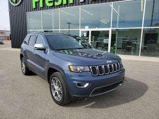 Used 2020 Jeep Grand Cherokee Limited Remote Start, NAV, HTD Seats & Wheel! for sale in Ingersoll, ON