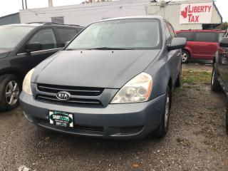 Used 2007 Kia Sedona EX AS-IS for sale in Mississauga, ON