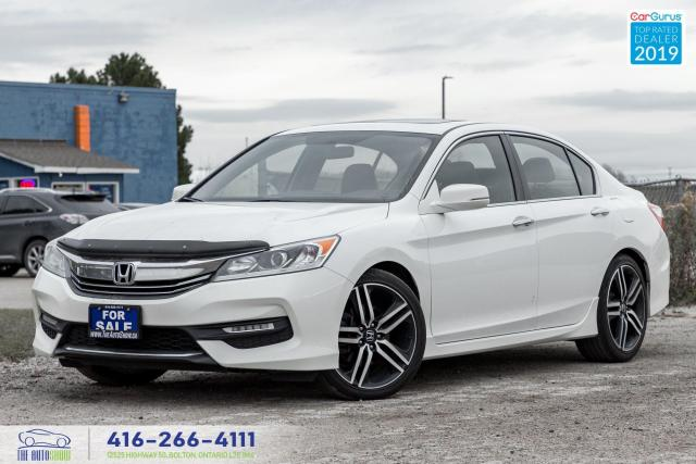 2016 Honda Accord Sport|Clean Carfax|One owner|Back up Camera|