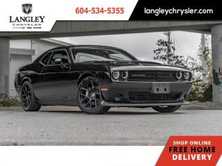 Used 2015 Dodge Challenger R/T Scat Pack  Low KM / Rare Local car / Scat Pack / Nav for sale in Surrey, BC