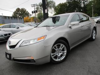 Used 2009 Acura TL TL W-NAVIGATION PKG|LEATHER|SUNROOF|177KM !!! for sale in Burlington, ON