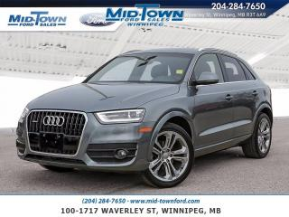 Used 2015 Audi Q3 20TQ quattro for sale in Winnipeg, MB