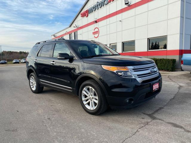 2015 Ford Explorer XLT WITH LEATHER