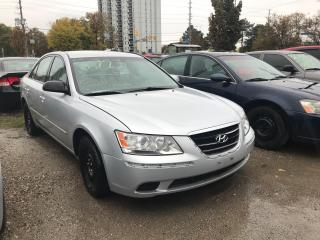 Used 2010 Hyundai Sonata GL AS-IS for sale in Mississauga, ON
