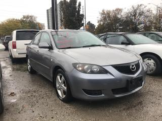 Used 2006 Mazda MAZDA3 GX AS-IS for sale in Mississauga, ON