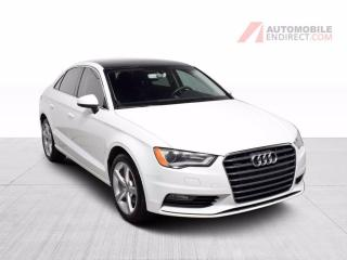 Used 2016 Audi A3 Komfort Quattro Cuir Toit Mags Sièges Chauffants for sale in Île-Perrot, QC