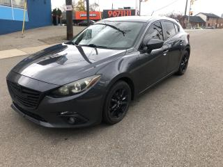 Used 2014 Mazda MAZDA3 GS-SKY/auto/cam/nav/extratiresonrims/certified for sale in Toronto, ON