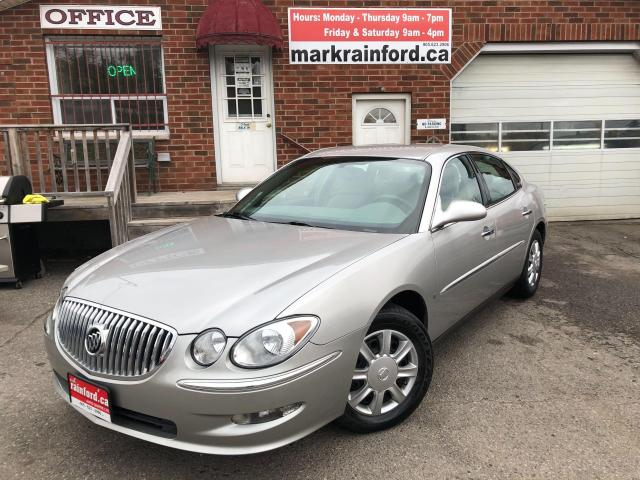 2008 Buick Allure CX 3.8 Litre V6 Cloth Power Group