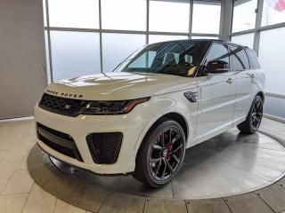 New 2021 Land Rover Range Rover Sport SVR - 575HP! for sale in Edmonton, AB