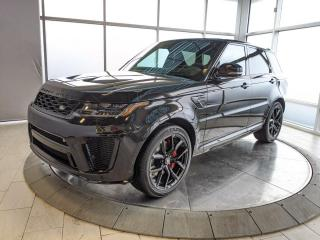 New 2021 Land Rover Range Rover Sport SVR 4dr 4WD Sport Utility for sale in Edmonton, AB