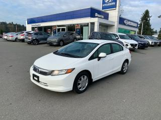 Used 2012 Honda Civic LX for sale in Duncan, BC