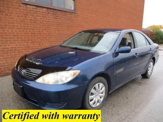 Used 2005 Toyota Camry LE/SAFETY AND WARRANTY for sale in Oakville, ON