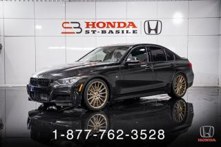 Used 2014 BMW 3 Series 335xi + M PERFORMANCE + NAVI + WOW! for sale in St-Basile-le-Grand, QC