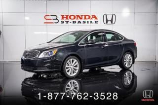 Used 2015 Buick Verano A/C + CUIR + CAMERA + CRUISE + WOW! for sale in St-Basile-le-Grand, QC
