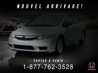 Used 2009 Honda Civic DX-G + AUTO + A/C + MAGS + WOW! for sale in St-Basile-le-Grand, QC